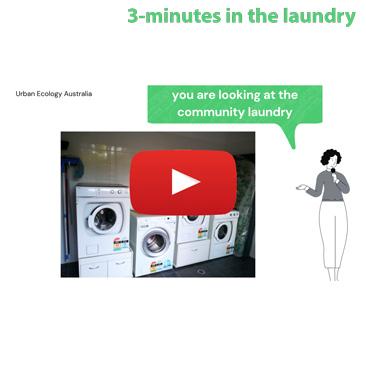Christie Walk community laundry