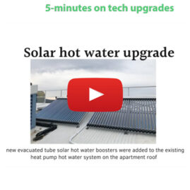 Sustainable technology upgrades at Christie Walk