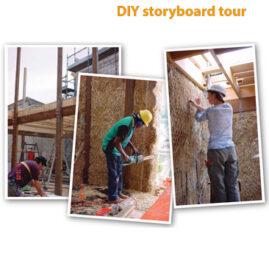 Christie Walk storyboard tour
