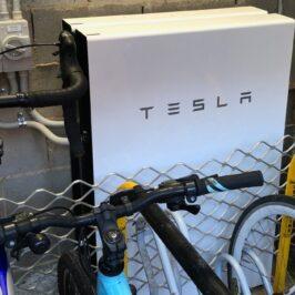 2nd Tesla battery installed