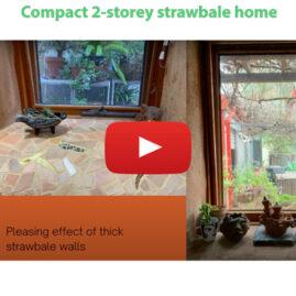 2-storey strawbale home