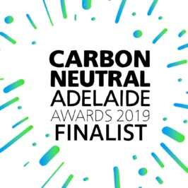 Carbon Neutral Adelaide Awards 2019 Finalist